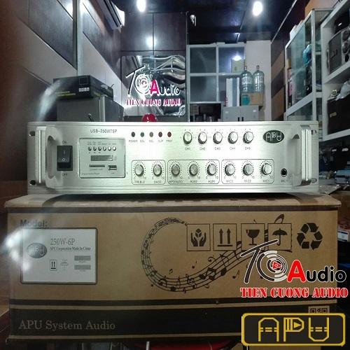 Amply APU USB 250WT5P chỉnh âm lượng 5 vùng khác nhau, giá tốt, bảo hành 12 tháng