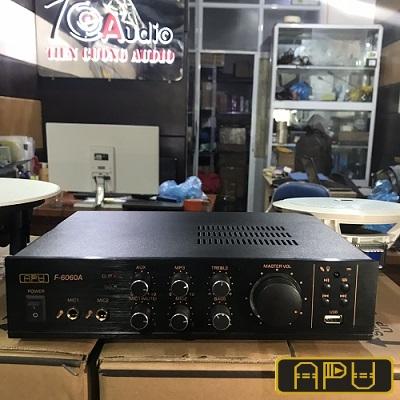 Amply APU USB 60TS F6060A công suất 60w có USB, Blutooth, SD
