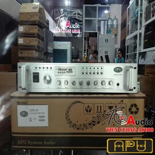 Amply APU USB 650W phân 6 vùng giá tốt nhất thị trường