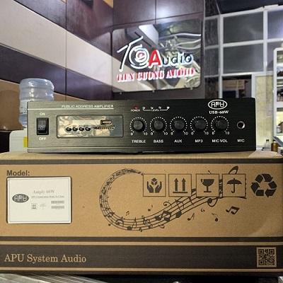 Amply APU USB 60A chính hãng giá tốt công suất 60W
