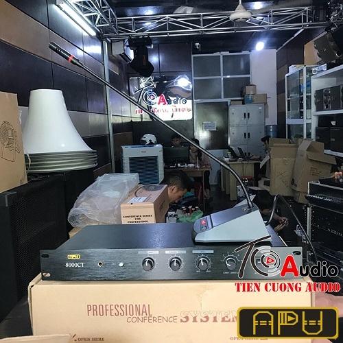 Bộ điều khiển trung tâm APU 8000CT dùng cho hội thỏa bàn quầy