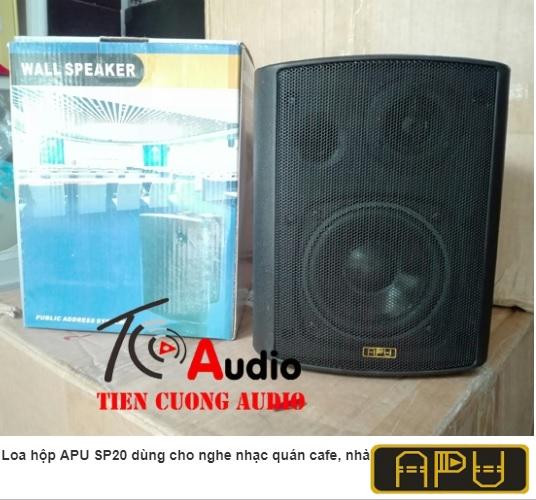 Loa hộp APU SP20 công suất 20w dùng nghe nhạc và thông báo